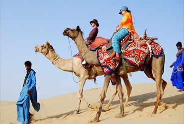 Image Camel safari tour package in Rajasthan India