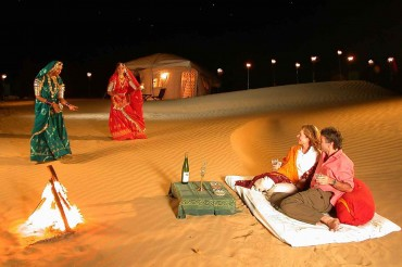Image Colourful Rajasthan India Golden Triangle Tour